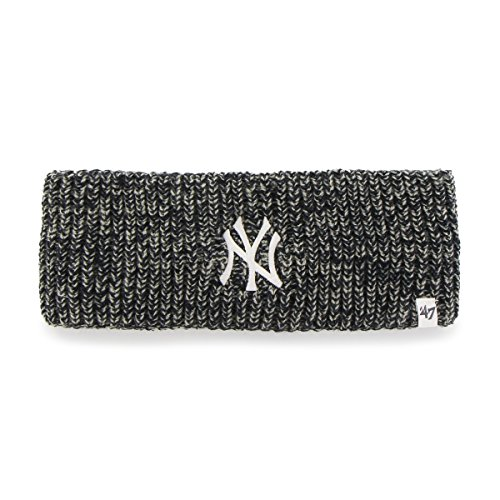 MLB New York Yankees Women's '47 Prima Twisted Headband, Navy