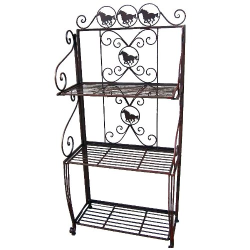 Ll Home Horse Bakers Rack by LL Home