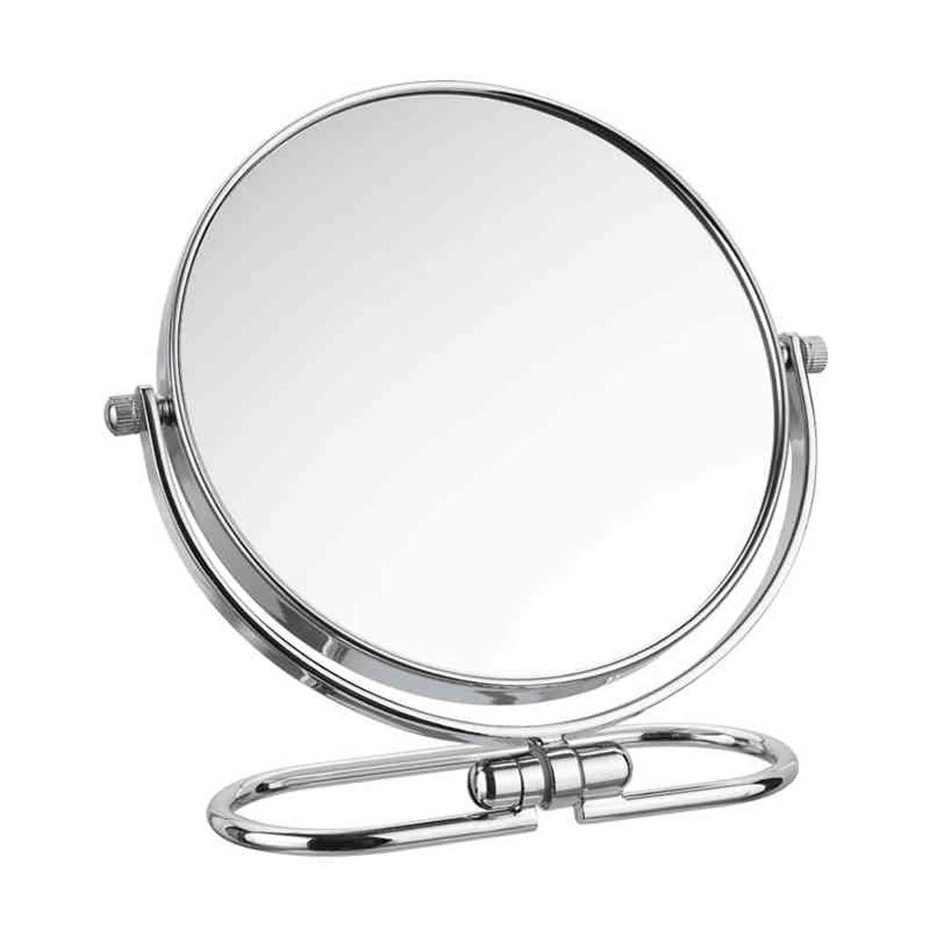 C&Q CQ Mirror Folding Mirror Mirror Double Sided Mirror European Metal Mirror Wall Mirror Portable Mirror by C&Q (Image #1)