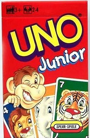 Juego de cartas Uno Junior de Mattel: Amazon.es: Oficina y ...