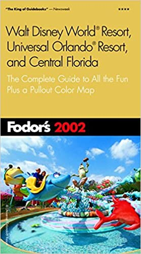Universal Florida Map.Fodor S Walt Disney World R Resort Universal Orlando R Resort