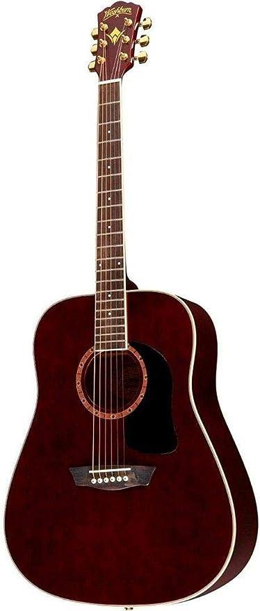Washburn wd100dl – Guitarra acústica dreadnought caoba ...