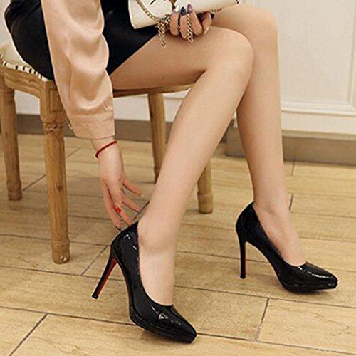 XUERUI Cm Ms Schwarz Tacco Alti UK3 Sexy Bello größe Farbe 5 EU36 Stiletti Fit 10 CN35 Pumps Di Tacchi dfqwRdP