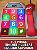 Toy Phone Teaches Numbers%3A English  an