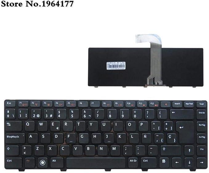 Teclado de España para DELL Inspiron 14R N4110 M4110 N4050 M4040 N5050 M5050 M5040 N5040 X501Lx502L P17S N4120 M4120 L502X: Amazon.es: Electrónica