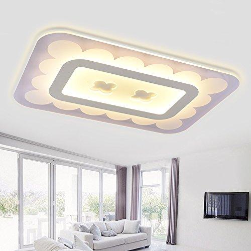 Super dünne led Decke Lampe rechteckigen Wohnzimmer Lampe ...