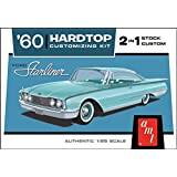 AMT 1055 1960 Ford Starliner Hardtop 2 in 1 1:25 Scale Plastic Model Kit - Requires Assembly