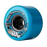 Sector 9 Race Formula Center-Set Skateboard Wheel, Blue, 70mm 80A