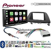 Volunteer Audio Pioneer AVH-W4400NEX Double Din Radio Install Kit with Wireless Apple CarPlay, Android Auto, Bluetooth Fits 2008-2010 Honda Odyssey