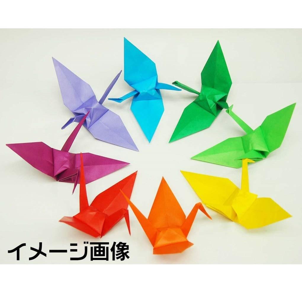 Japon/és de papel para Origami 17,6/x 17.6/cm 100/hojas negro por Tokio 065154/de Jap/ón reverso es de color blanco