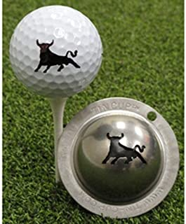 product image for Tin Cup Bull Market Golf Ball Marking Stencil, Steel