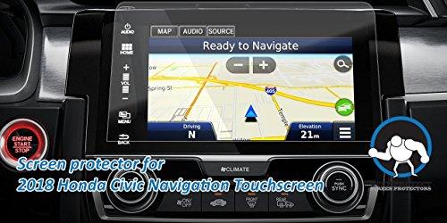 Tuff Protect Clear Screen Protectors For 2018 Honda Civic Navigation Screen