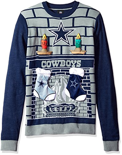 Dallas Cowboys Ugly Christmas Sweater: Amazon.com