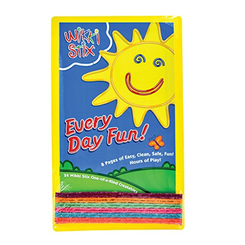 Wikki Stix Every Day Fun Pak of Molding & Sculpting Sticks by WikkiStix