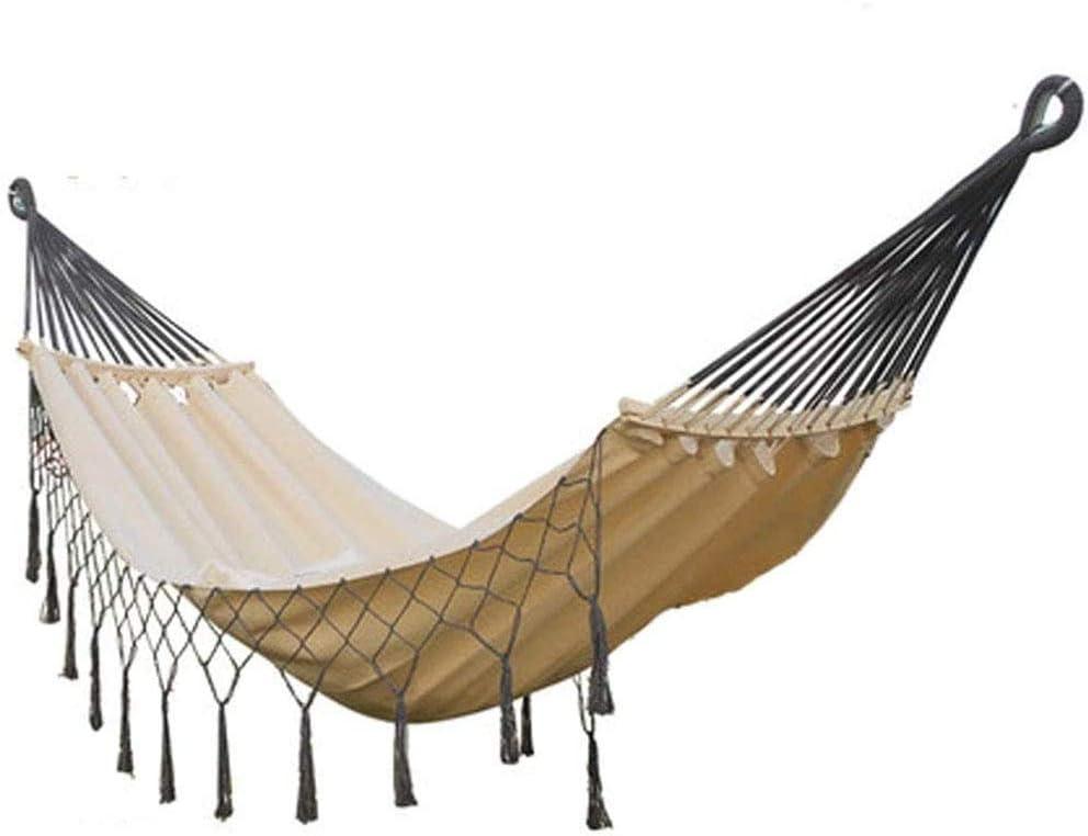 W.KING Hamaca al Aire Libre antivuelco Hijos Adultos el oscilación Que Alumnado Dormitorio Balcón Parque fácil de Llevar (Tamaño: 200 * 100cm)