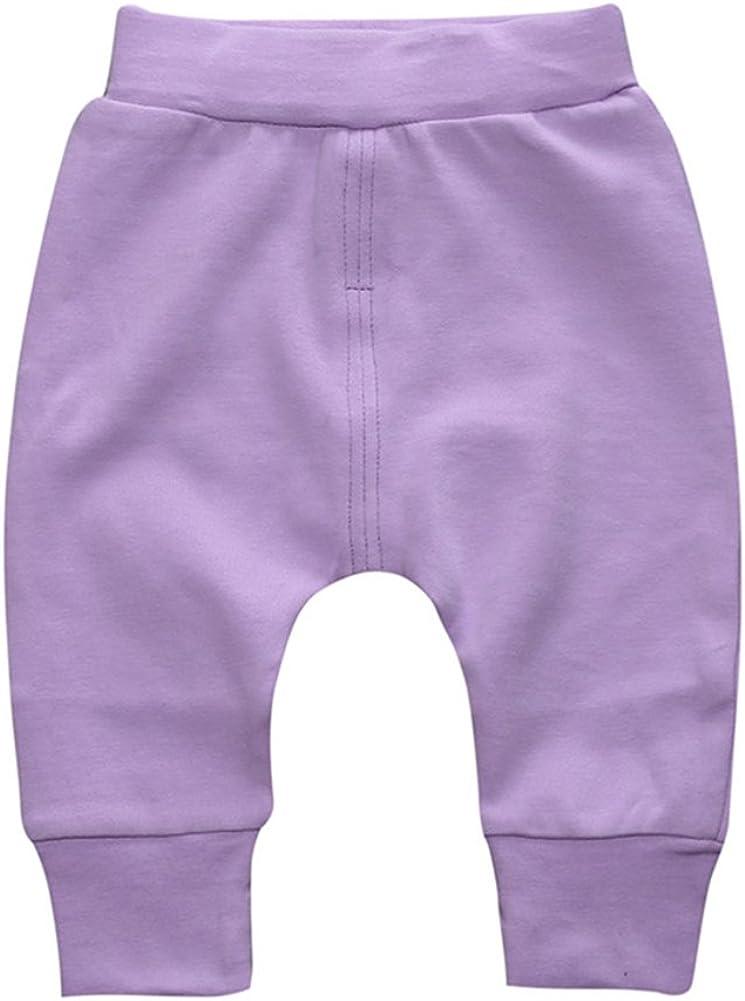Happy childhood Comfortable Baby Boys Girls Pants Infants Cotton Hip Hop Harem Pants Infant Sport Jogger
