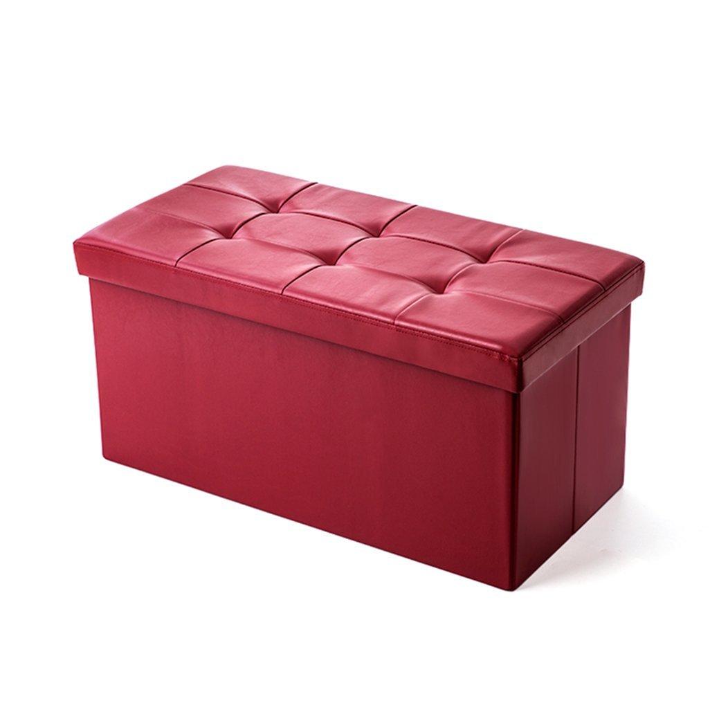 DLDL Taburete Plegable del Almacenamiento del sofá de la Taburete del Almacenamiento (76  38  38cm)