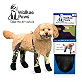 Walkee Paws Waterproof Dog Leggings - Keep Your Dog's' Clean & Dry Without The Hassle of Boots - Camouflage (Medium)