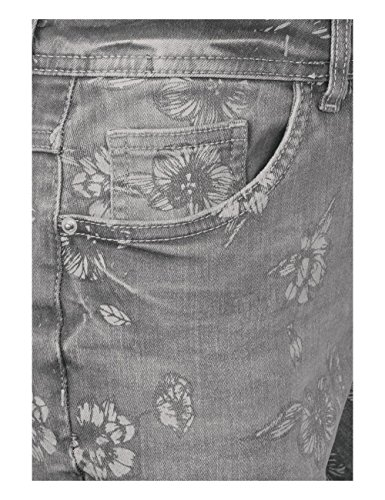 Femme Cecil Jean 10316 Slim Used Wash Grau Mid Grey pR7EBqz