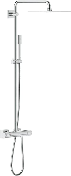 Grohe Rainshower System - Sistema de ducha con ducha Sena 254 mm ...