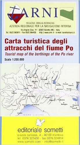 Cartina Geografica Fiume Po.Amazon It Carta Turistica Degli Attracchi Del Fiume Po Aa Vv Aa Vv Libri