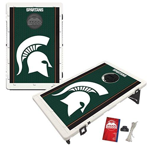 Victory Tailgate Michigan State University Spartans Baggo Bean Bag Toss Cornhole Game Fanatics Design