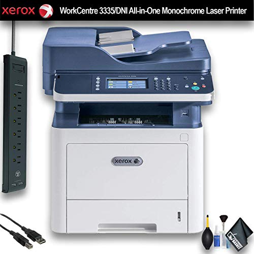 Xerox WorkCentre 3335/DNI All-in-One Monochrome Laser Printer (3335/DNI) Office Bundle