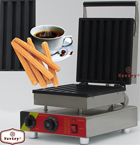 Newtry NP-514 Rectangle Churros waffle maker machine Electric churro machine Iron Waffle Maker Churros Machine Baker Mold (220V) by Newtry