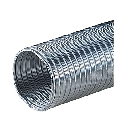 Heat Resistant Hose >> 4 100mm Aluminium Flexible Pipe Alloy Air Ducting Outlet Tube Heat Resistant Hose