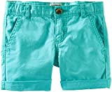 OshKosh B'gosh Woven Shorts (Toddler/Kid) - Turquoise-6