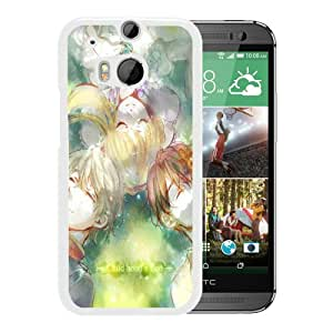 Beautiful Designed Case With Child hood's end White For HTC ONE M8 Phone Case