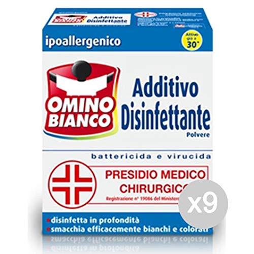 Omino Bianco Juego de 9 aditivo desinfectante Polvo GR 450 ...