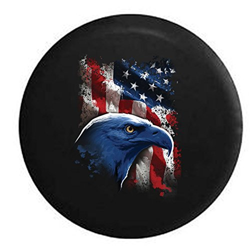 Compare Price Jeep Tire Cover American Flag On