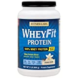Fitness Labs WheyFit Protein (2 Pounds, Creamy Vanilla)