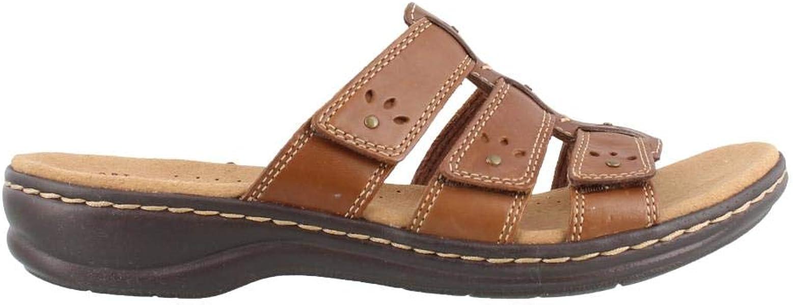 617e5f28d7f0 CLARKS Leisa Spring Women s Sandal 8 C D US Brown-Multi