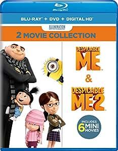 Amazon.com: Despicable Me: 2-Movie Collection [Blu-ray