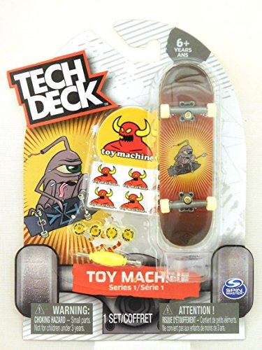 Rare Series (Tech Deck TOY MACHINE Series 1 (Ultra Rare) Jeremy Leabres Skateboard Fingerboard)