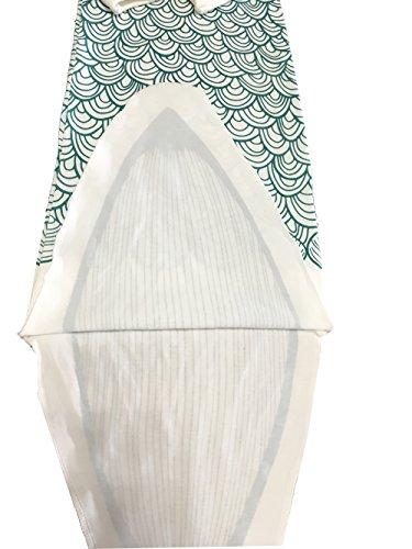 NinkyNonk Nowborn Cute Sleeping Bag Unisex Baby Wearable Blanket (Mermaid,S)