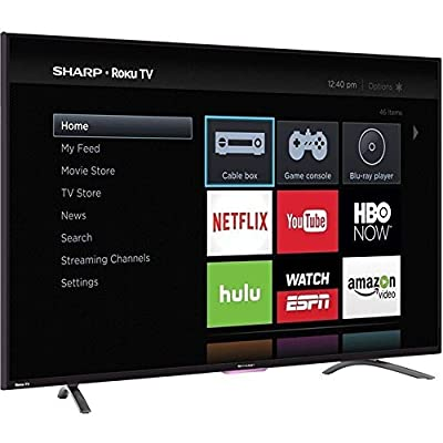 "Sharp N4000 Full HD 55"" Class WiFi Roku 60Hz LED Smart TV"