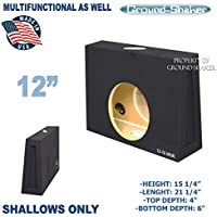 Ford F250 Crew Cab 12 Subwoofer Enclosure / 12 multinational Subwoofer box