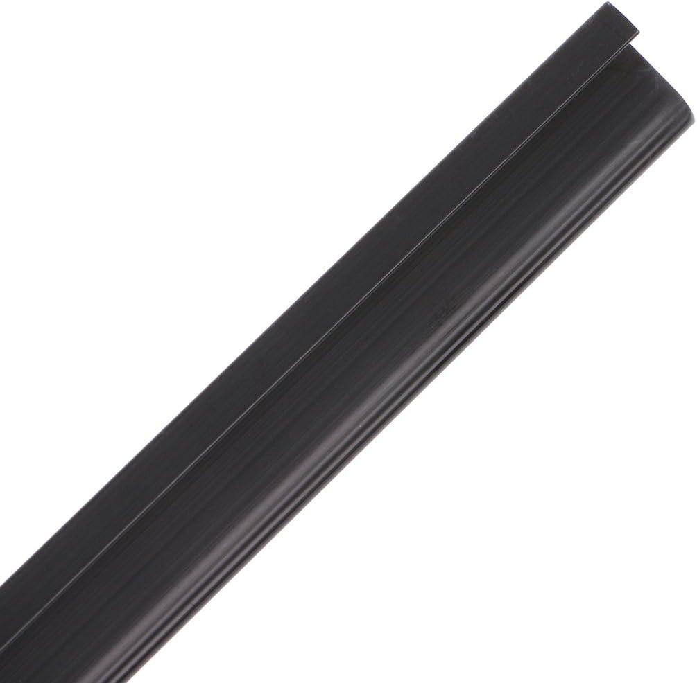 Lunji R/ègle dartisanat en M/éta Protection de Coupe pour Papier Tissu Cuir Scrapbooking Matelassage 20cm