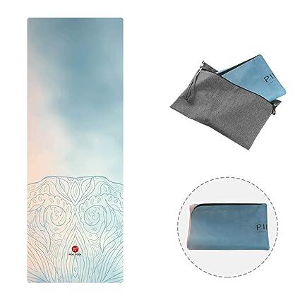 PIDO 2019 - Esterilla de Yoga de Viaje, diseño Estampado, de ...