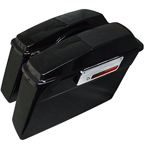 Harley Chrome Bag Latches - 4