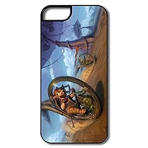 Custom Geek Plastic Case Crazy Wheel Race For IPhone 5/5s