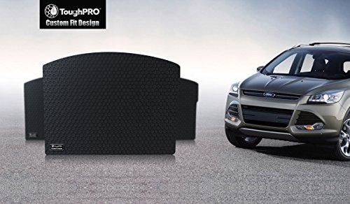 ToughPRO Ford Escape Cargo Mat - All Weather - Heavy Duty - Black Rubber - (2013-2014-2015-2016-2017-2018-2019)