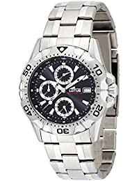 Mens Watch LOTUS by FESTINA Steel Band Black Dial