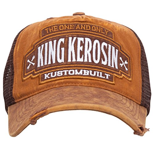 gorra built nbsp;– Kerosin nbsp;Kustom plana con Trucker King Cap visera T5zaqxxP