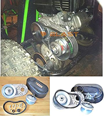 """BLAST LED - Predator 212CC GO Kart Torque Converter Clutch 3/4"""" #40#41 420 AND #35 TAV2 30-75 218353A 208352A 10T #40/41 AND 12T #35 REPLACEMENT"""