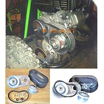 Amazon Com Yerf Dog Torque Converter Clutch Go Kart Centrifugal Gokart Parts Sports