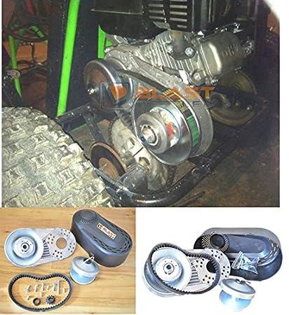 BLAST LED - Predator 212CC GO Kart Torque Converter Clutch 3/4